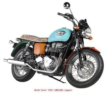 Triumph Bonneville Paul Smith