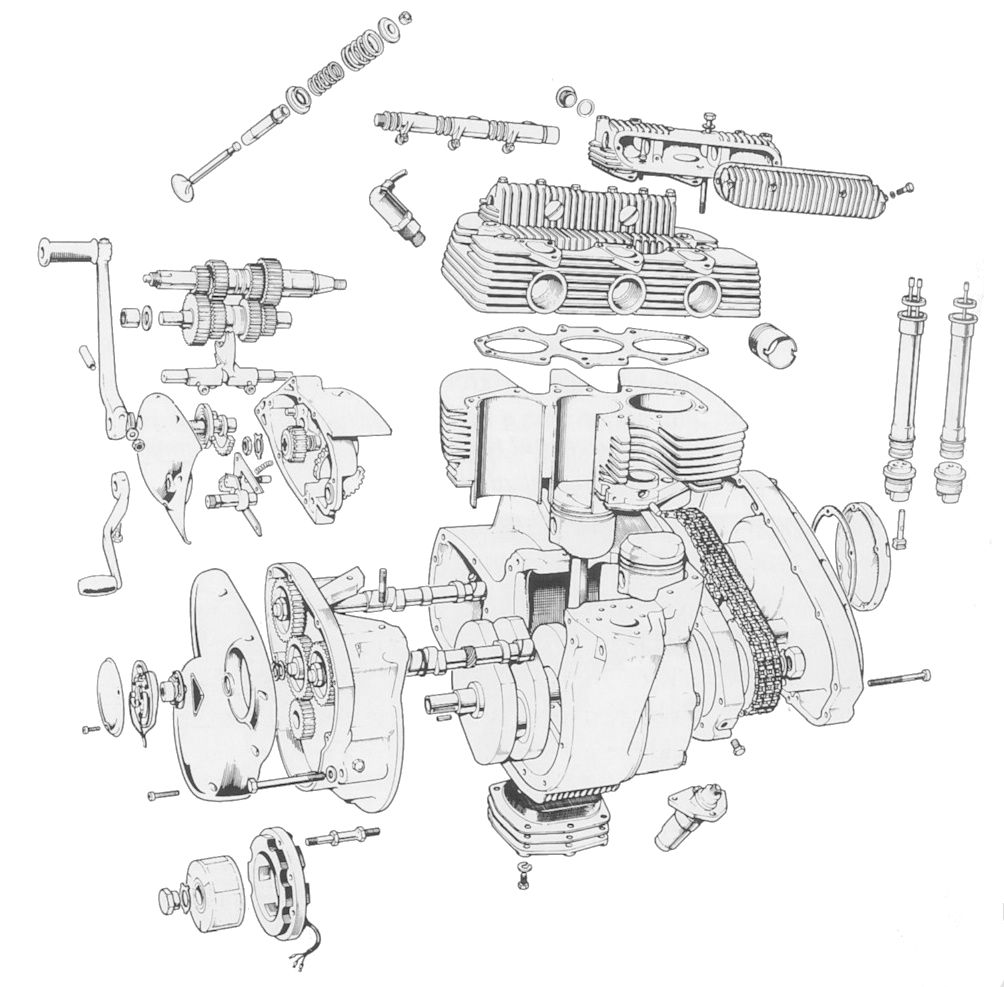 Bsa A65 Wiring Diagram - Lednings.viddyup.com Triumph Wiring Diagram on battery diagram, triumph controller diagram, triumph chopper wiring for, triumph frame diagram, triumph 650 wiring harness, triumph parts diagram, triumph clutch diagram,