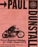 Catalogo Paul Dunstall 1966