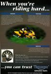 1999 Triumph Genuine parts advertising