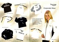 2000 Triumph Advertising Clothing