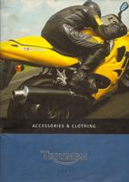 2001 Catalogo Accessori Triumph