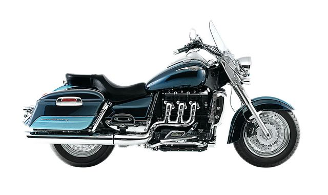 2010 Triumph Rocket Touring Eclipse Azue