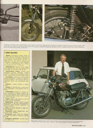 1984 - Motociclismo Bonneville Les Harries