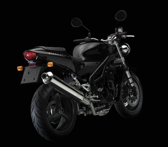 2004 Triumph Speed Triple All Black Special Edition SE