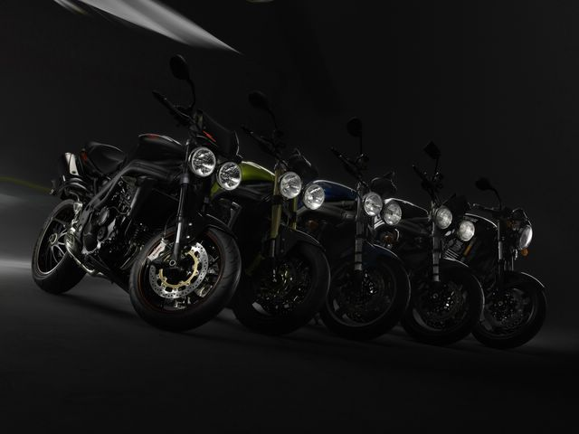 2008 Triumph Speed Triple SE 15th Anniversary