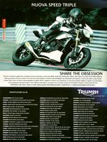 2010 Triumph Pubblicit� Speed Triple MY2011