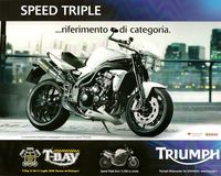 2010 Triumph Pubblicit� Speed Triple