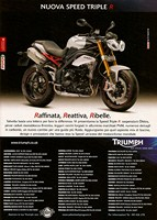 2011 Pubblicit� Triumph Speed Triple R
