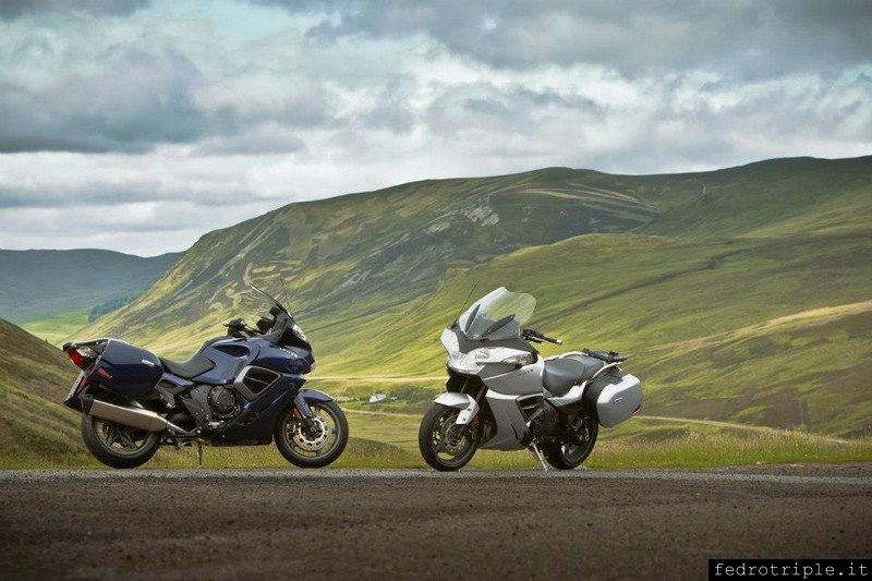 Triumph Trophy 1200 World Press Launch