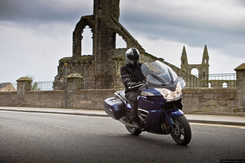 2012 Triumph Trophy 1200 Action