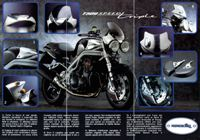 1998 Triumph Speed Triple Accessori Road Racing