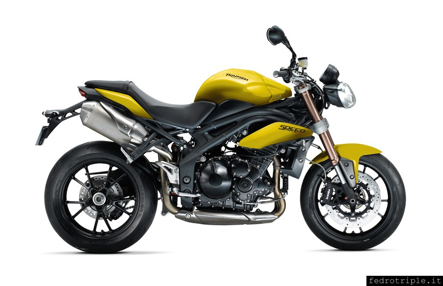 Triumph Speed Triple Sulphur Yellow