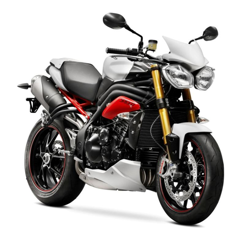 2013 Speed Triple R MY2014 Crystal White
