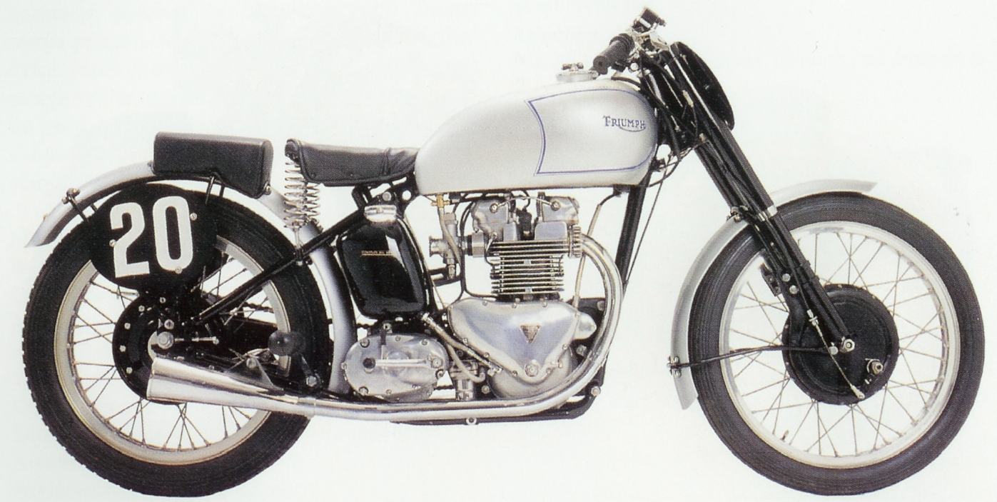 Dutch Vintage Motorcycle Association  A Triumph T100 Grand Prix
