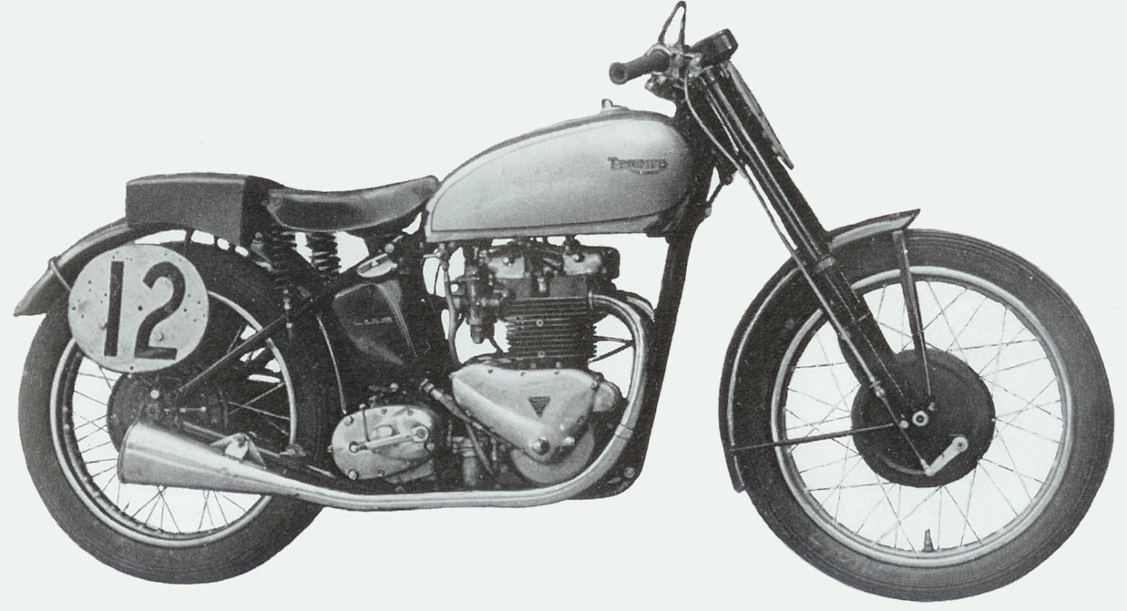 Dutch Vintage Motorcycle Association A Triumph T100 Grand