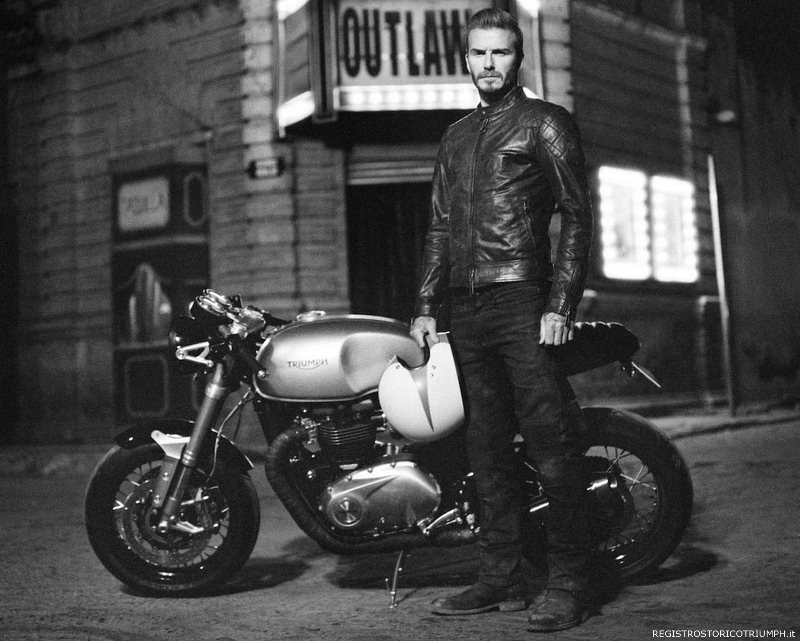 2015 Triumph Thruxton R MY2016 Outlaws David Beckham
