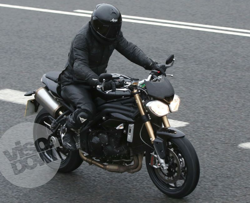 2015 Triumph Speed Triple in test